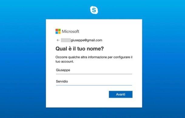 Registrazione Skype da computer