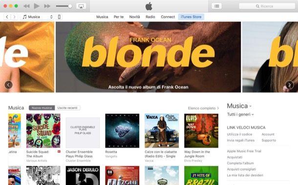 Come aggiungere canzoni su iTunes