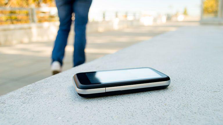 Foto di un cellulare