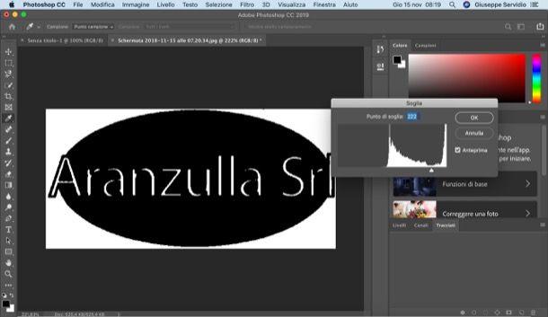 Vettorializzare una scritta con Photoshop