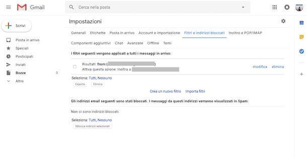Come inoltrare la posta con Gmail