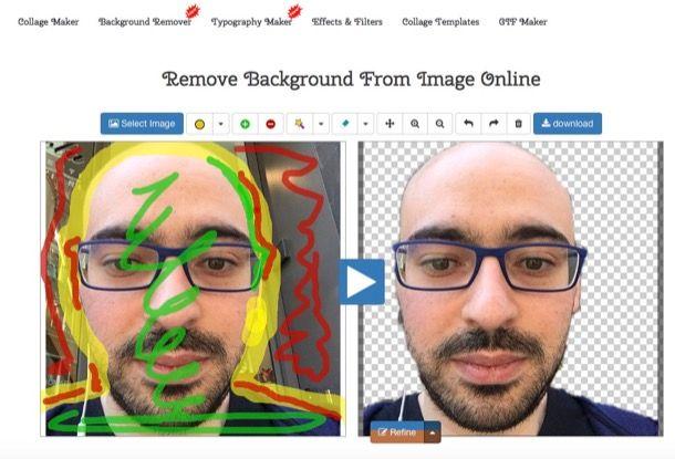 Come sovrapporre due immagini con Paint