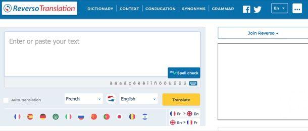 Altri servizi di traduzione online