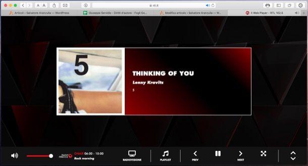 Ascoltare radio su Internet