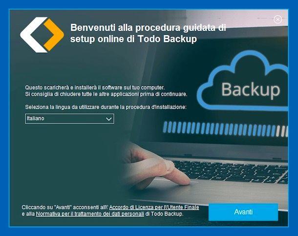 Programmi per backup