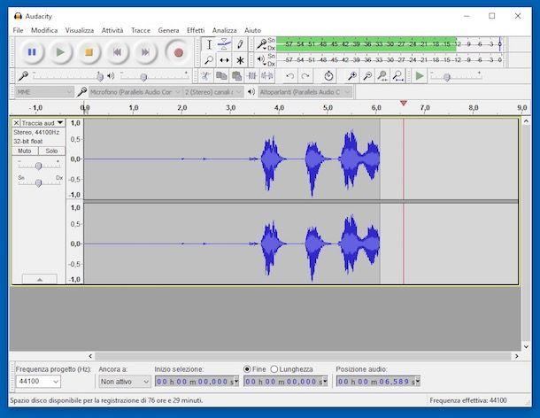Programmi per registrare la voce