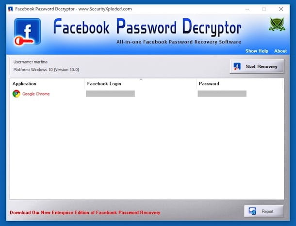 Programmi per rubare password Facebook