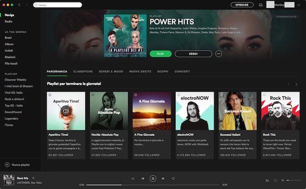 Programmi per ascoltare musica