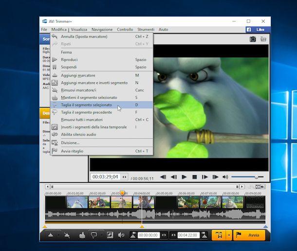 Programmi per tagliare video