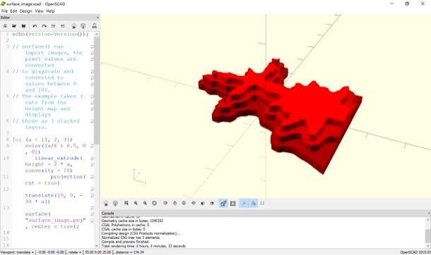 Programmi per disegnare in 3D
