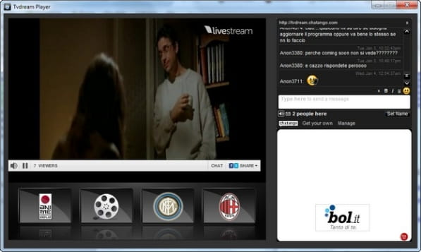 programma per vedere film formato avi