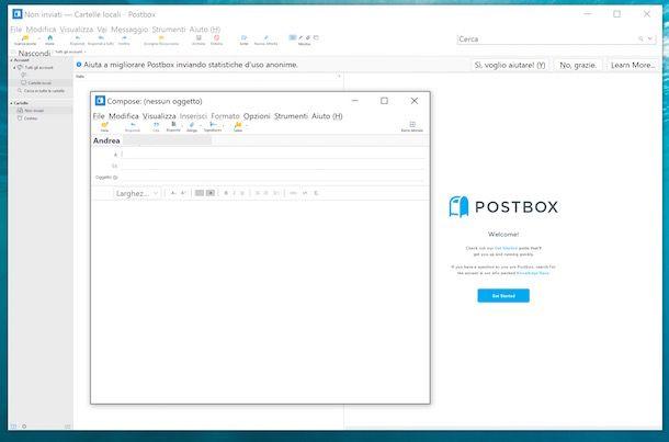 Programmi per posta elettronica
