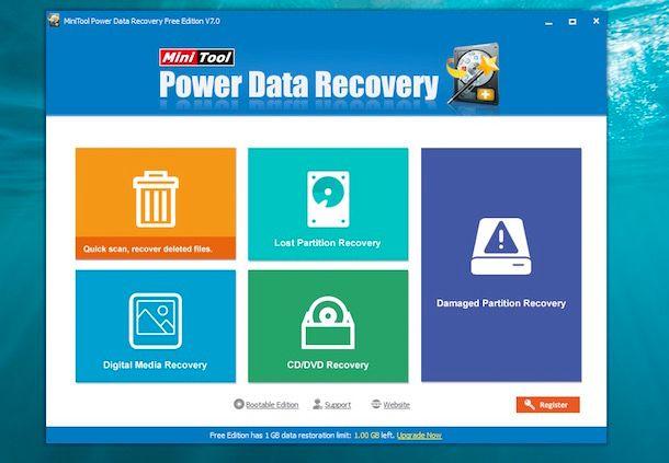 Programmi per recuperare file cancellati