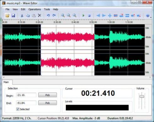 programma tagliare musica mp3