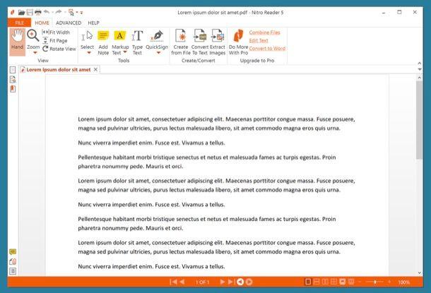 Programmi per aprire PDF