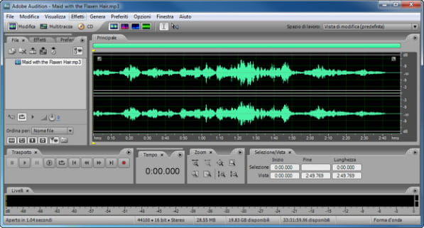 Come posso scaricare l'album di un Artista? Adobe-audition