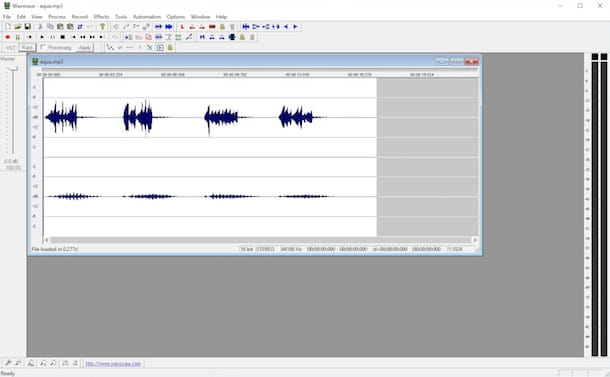 Programmi per editing audio