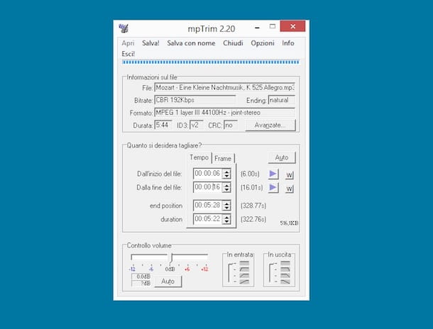 programma tagliare file mpeg
