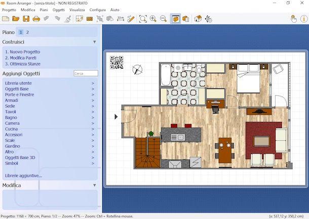 Programmi per progettare case