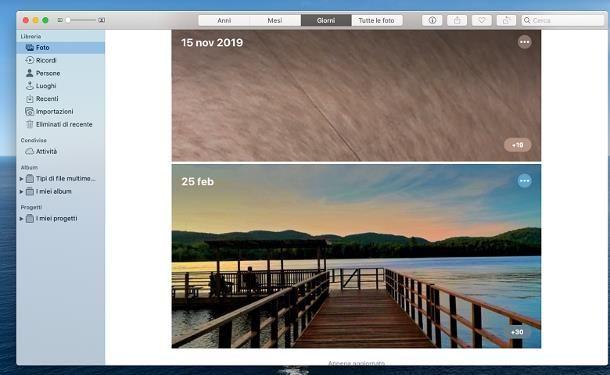 Programmi per archiviare foto