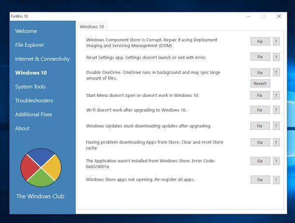 Programmi per correggere errori PC gratis