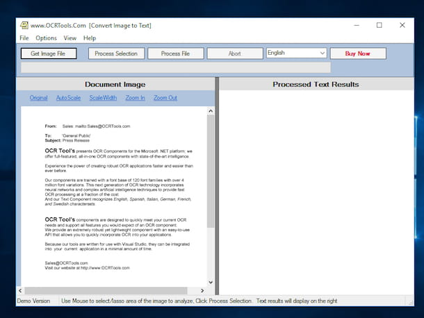 gratuitamente programma ocr scannerizzare documento direttamente word