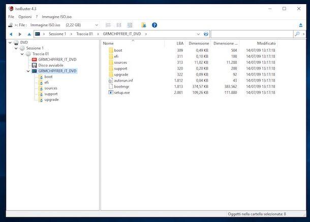 Come scompattare un file ISO