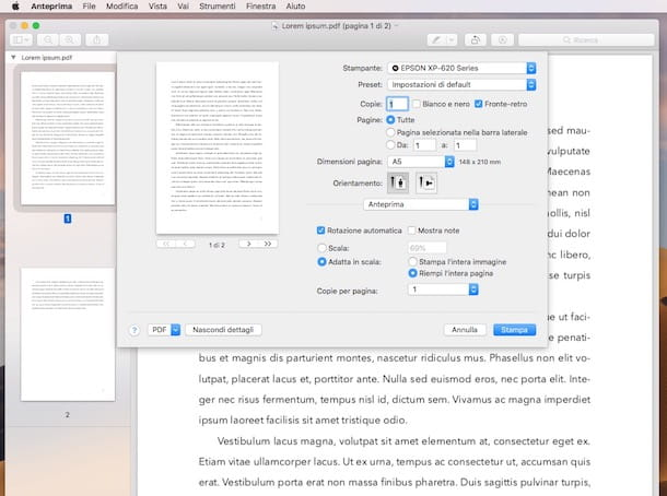 Come ridimensionare un PDF