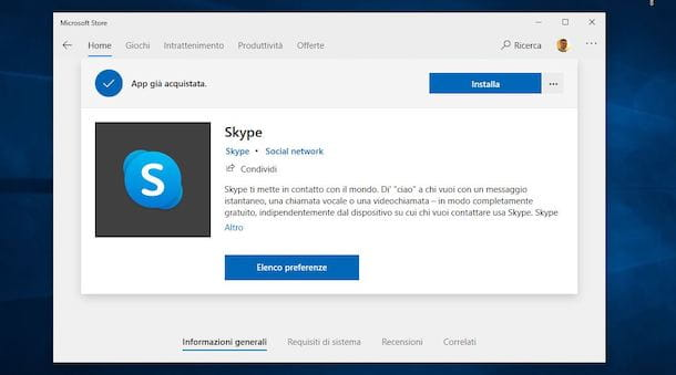 Come scaricare Skype su PC