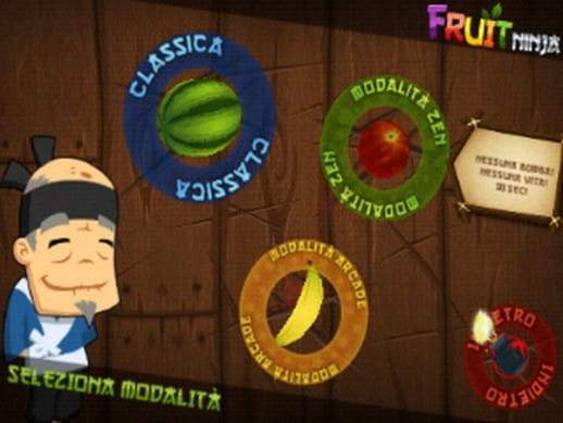 gioco fruit ninja gratis per cellulare