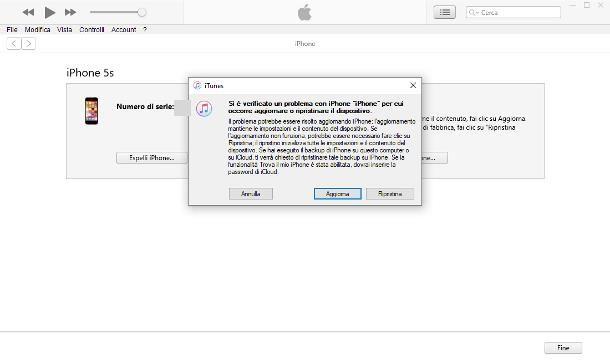Come sbloccare iPhone con iTunes