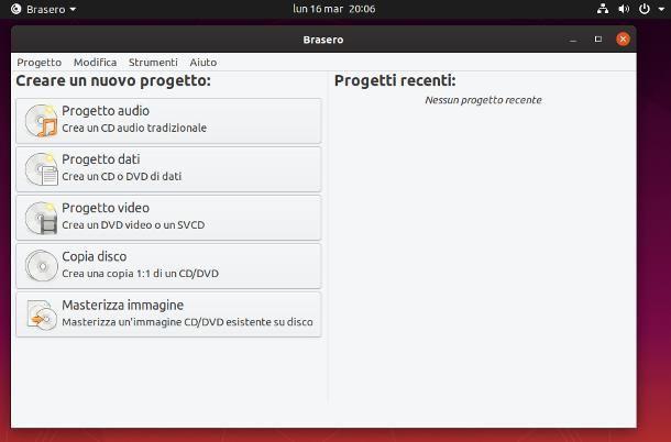 Programmi per Ubuntu per masterizzare