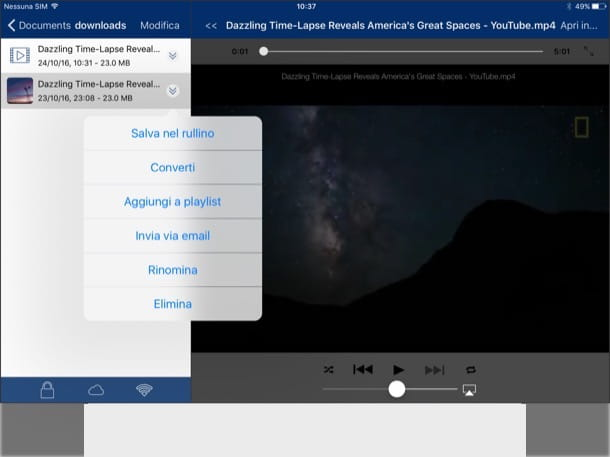 Come scaricare video da YouTube su iPad