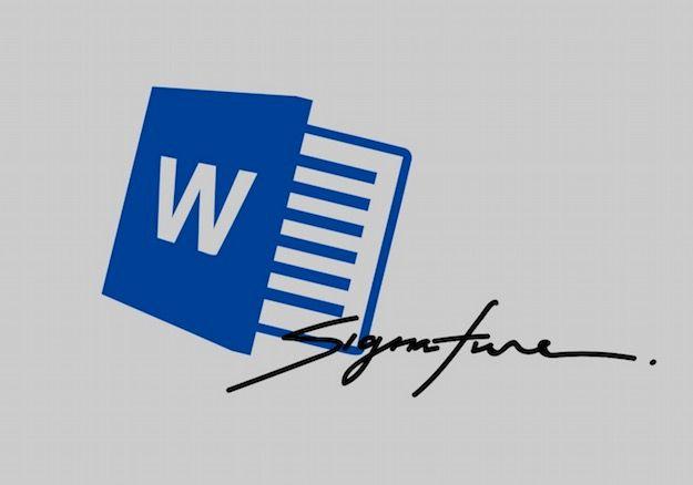 Come firmare un documento Word