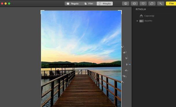Come ruotare una foto su macOS