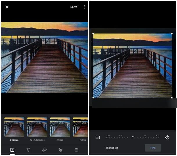 Come ruotare una foto su Android