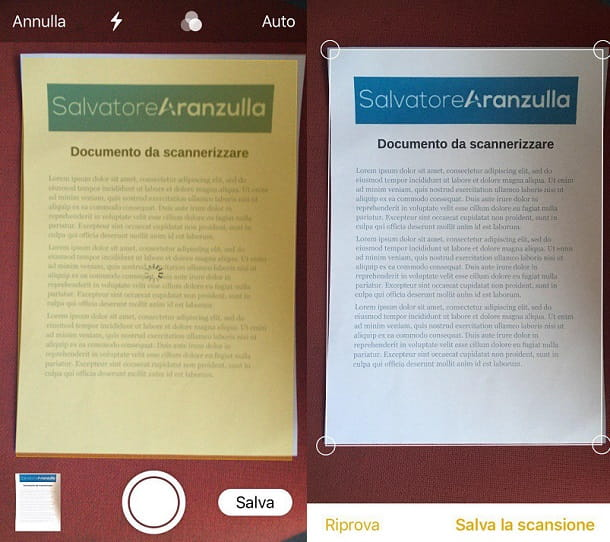 App per archiviare documenti cartacei