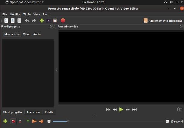 Programmi per Ubuntu per montaggio video
