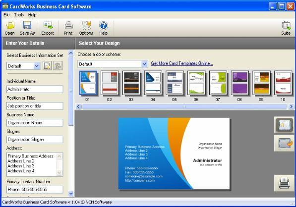 Programmi per biglietti da visita gratis salvatore aranzulla for Software di architettura gratuito online