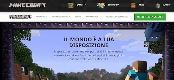 Come installare Minecraft Java Edition