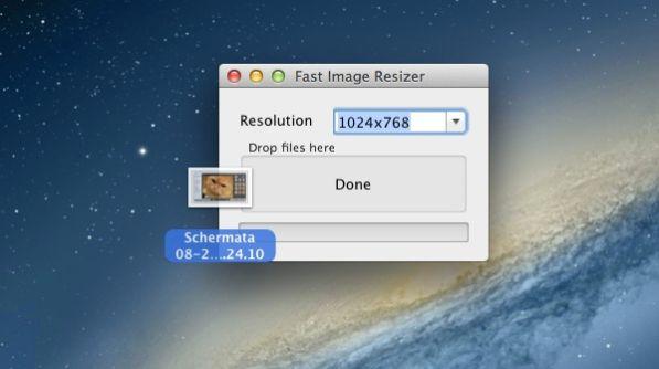 Programma ridimensionare foto mac 99