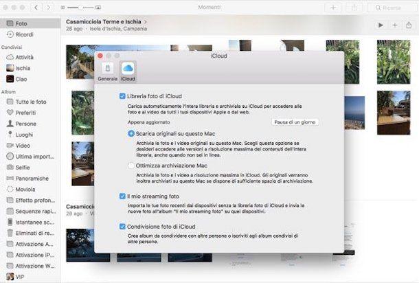 Come caricare foto su iPad