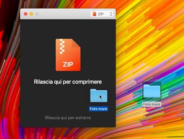 Programmi per zippare Mac