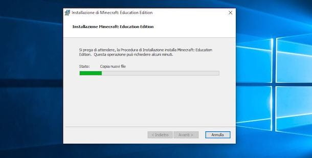 Installare Minecraft Education su PC Windows