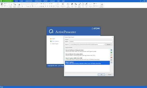 Programmi per registrare il desktop