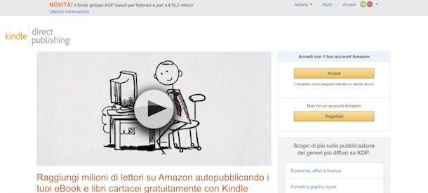 Amazon Kindle Direct Publishing eBook