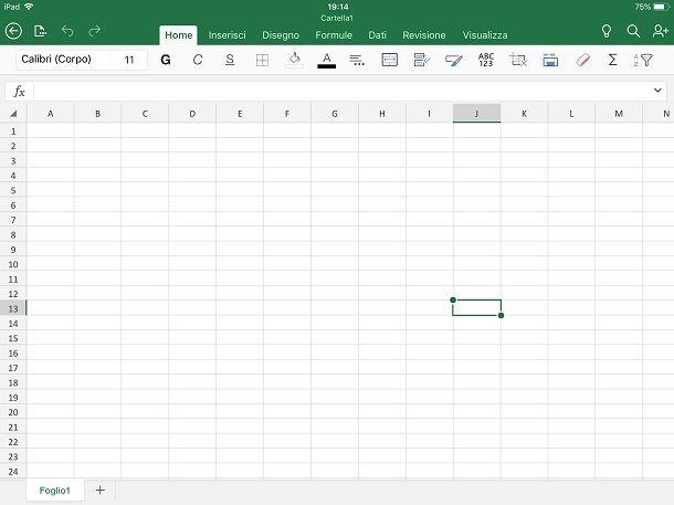 Programmi Office per iPad