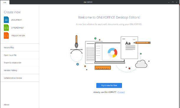 Altri programmi Office per Windows 10