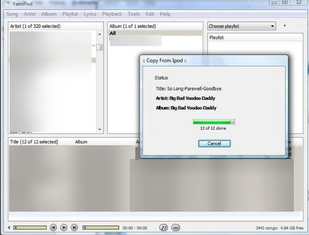 Altri programmi per iPod