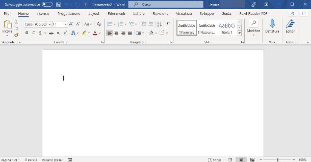 Programmi Office per Windows 10